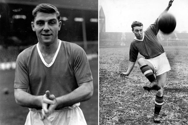 Duncan Edwards and Eddie Colman 1955-1956: The fourth title. Matt Busby completely changed the make-up of the team, bringing in new and much younger players. With an average of of 22 they were nicknamed the Busby Babes. Two of them were Duncan Edwards (left) and Eddie Colman (right).  Cr. <warp>www.bbc.co.uk/newsround/22264796</warp>